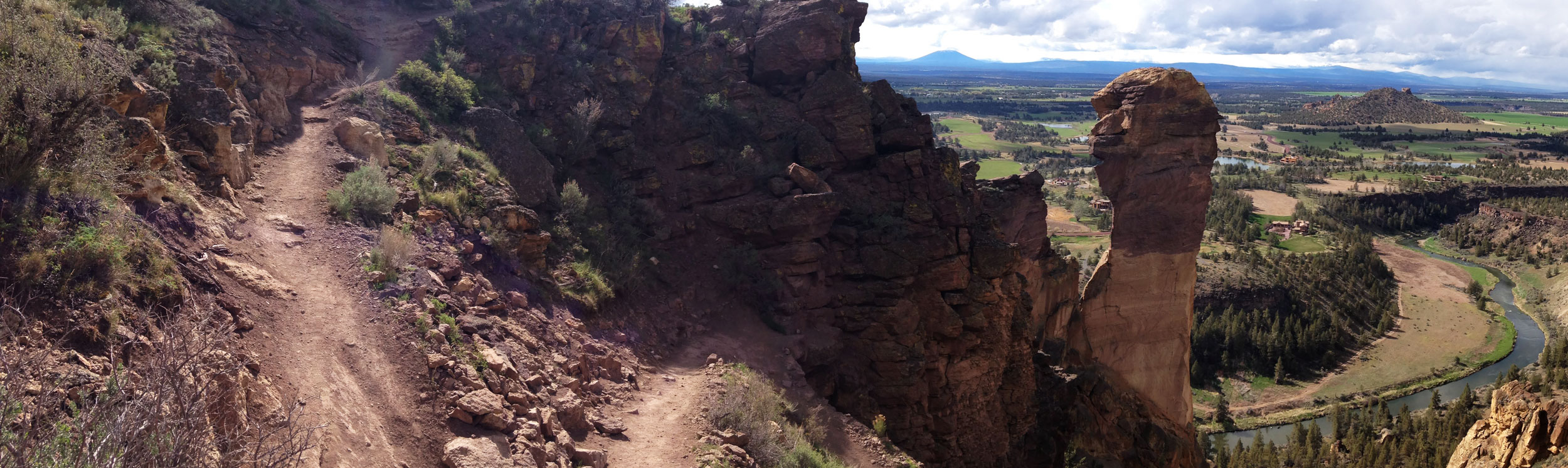 misery ridge loop - trail run
