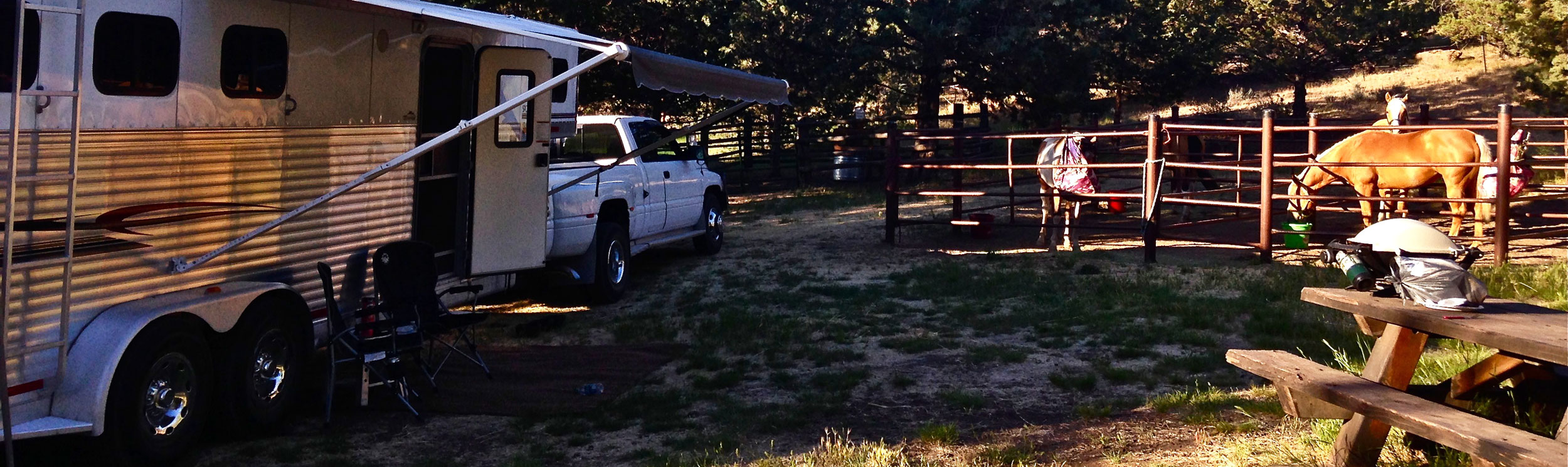 cyrus horse camp - to blm trails