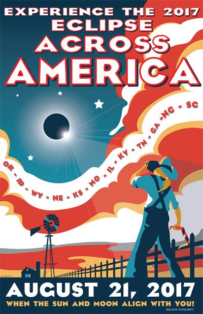 download 2017 Eclipse Across America Poster