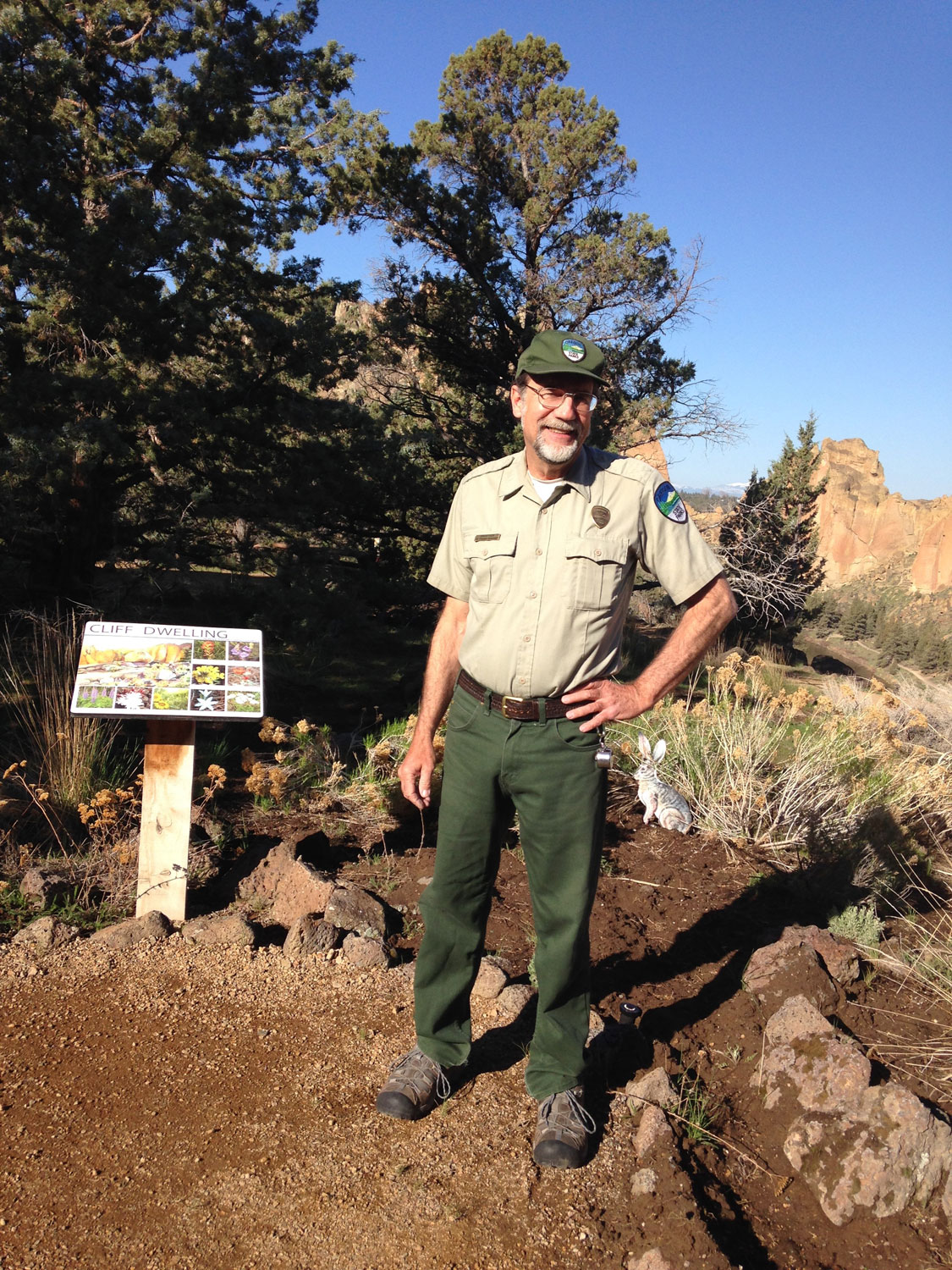 Smith Rock State Park Interpretative Naturalist David Vick