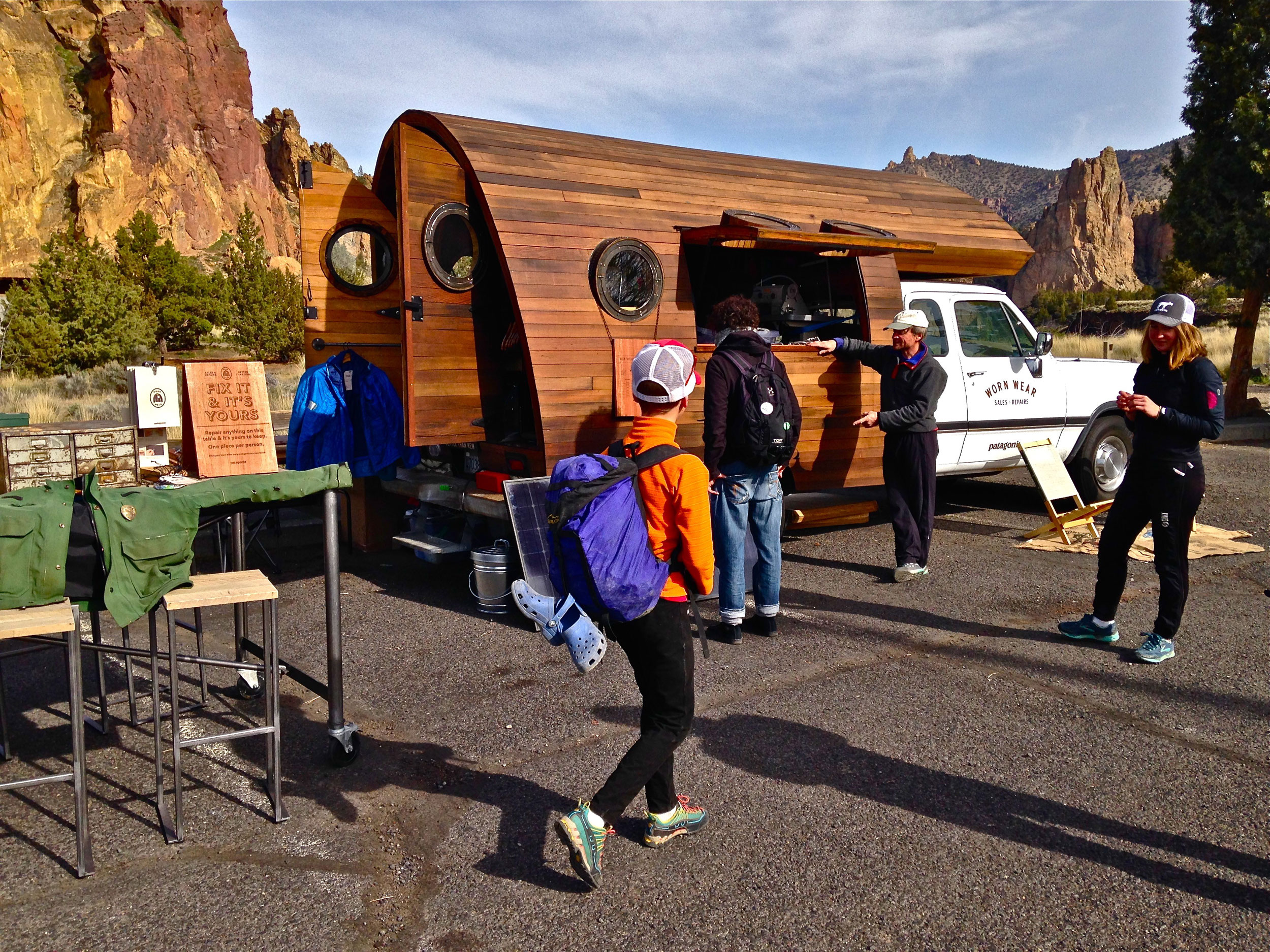 Patagonia Worn Wear Tour event
