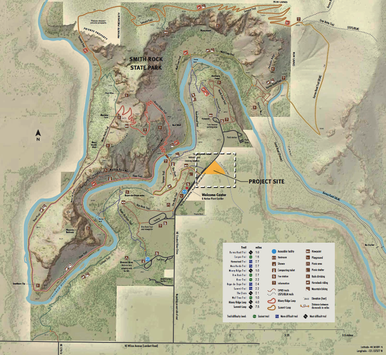 Mazama Ranch Proposed Development Project Site- click to enlarge