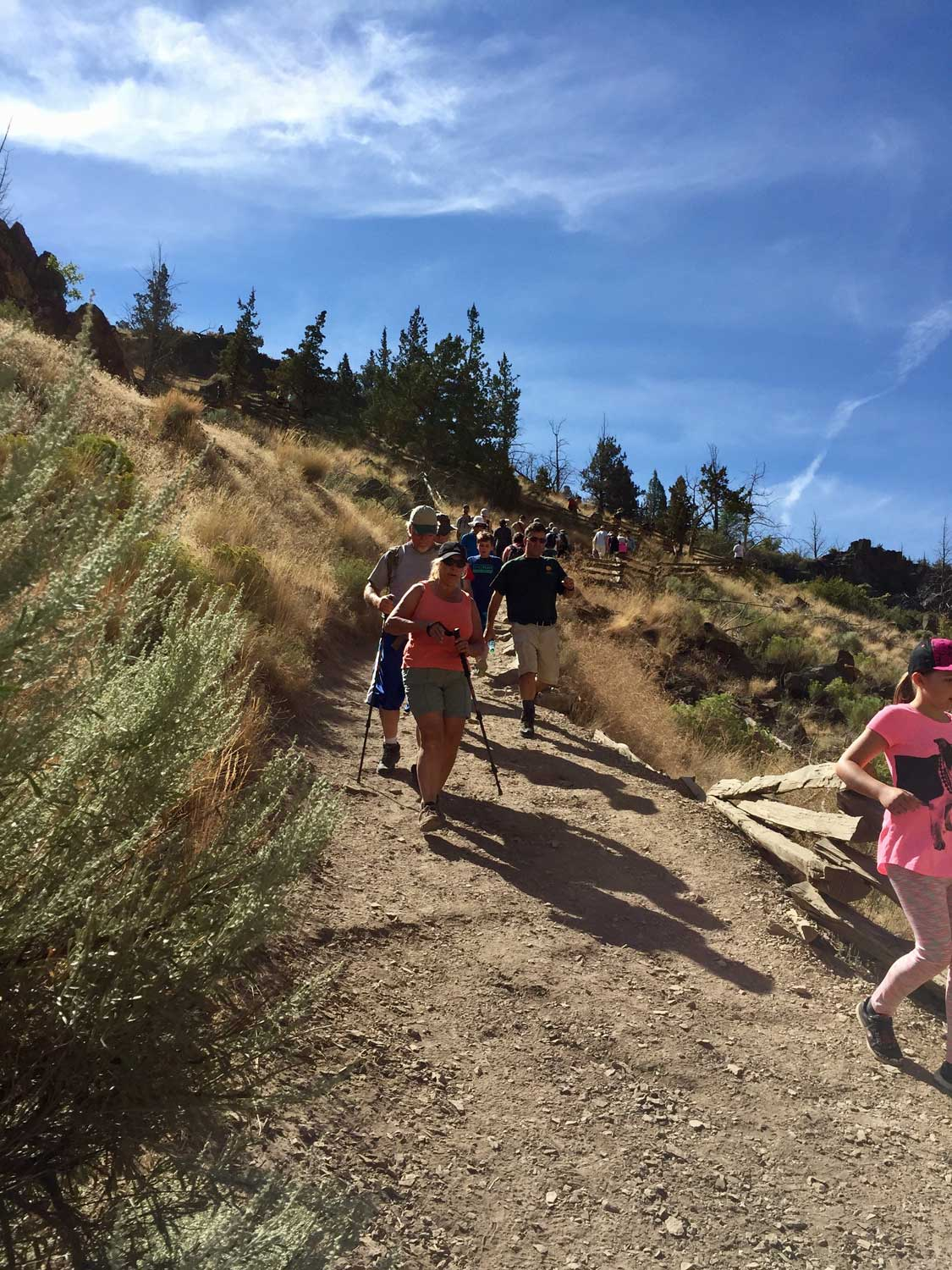 Racing to get in position for the Total Solar Eclipse at Smith Rock State Park
