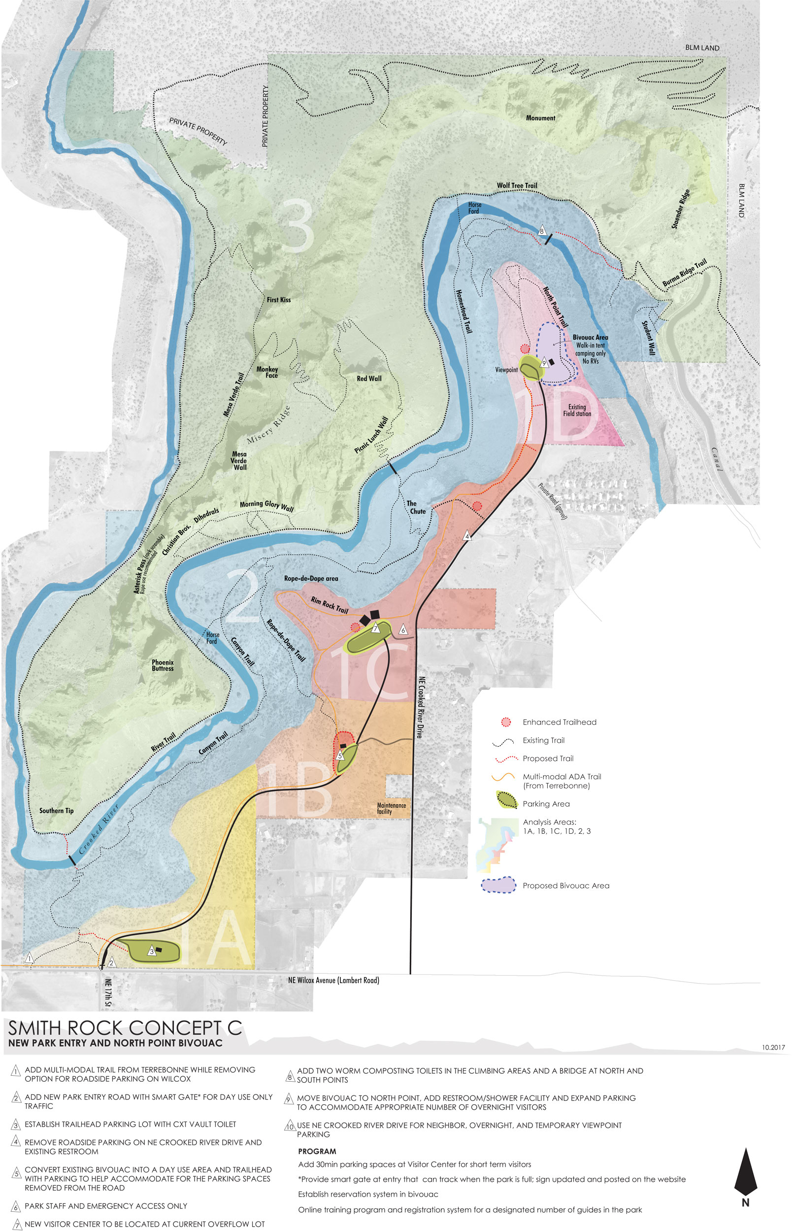 Smith Rock Master Plan Concept C—click to enlarge