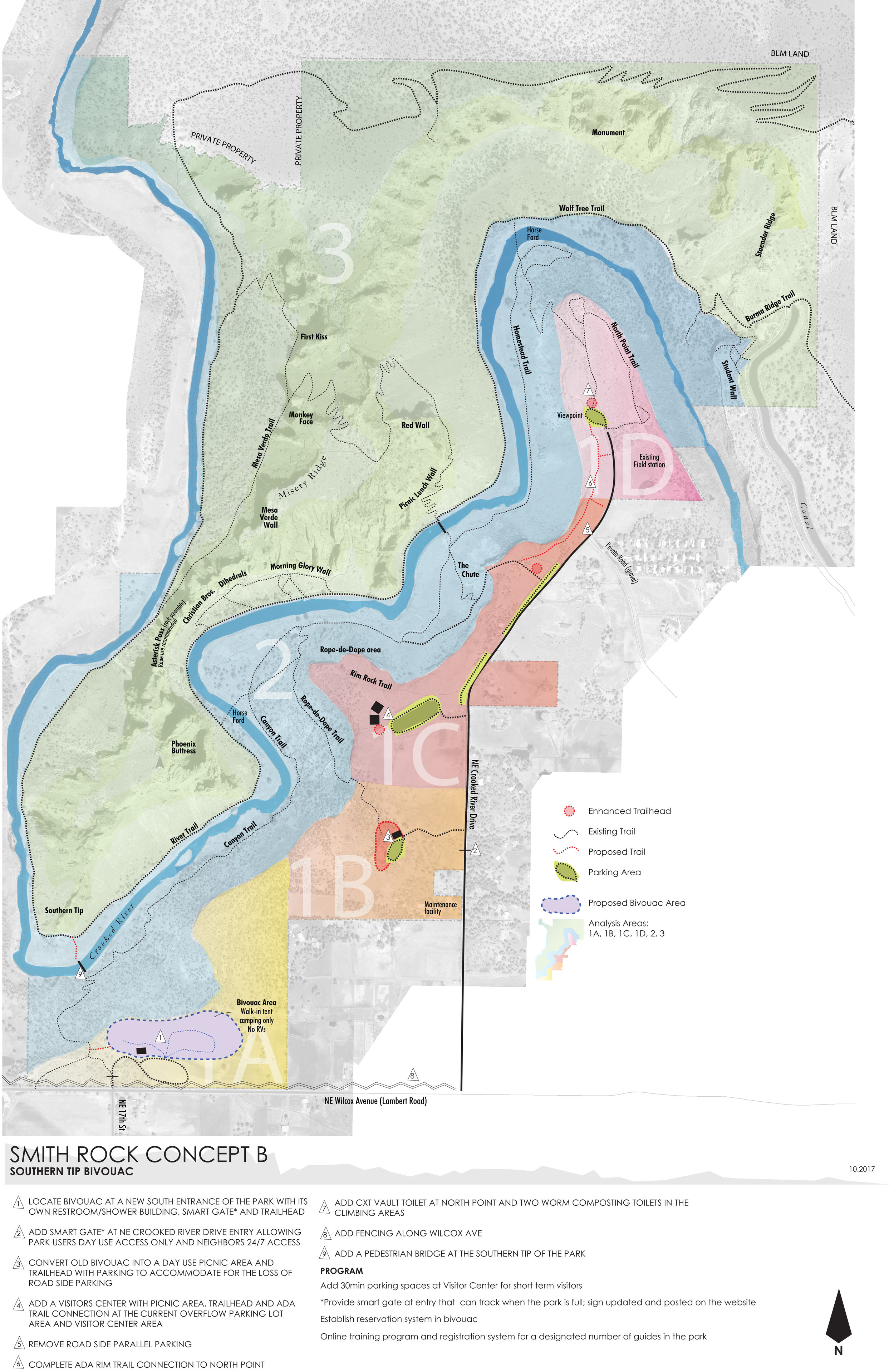 Smith Rock Master Plan Concept B—click to enlarge