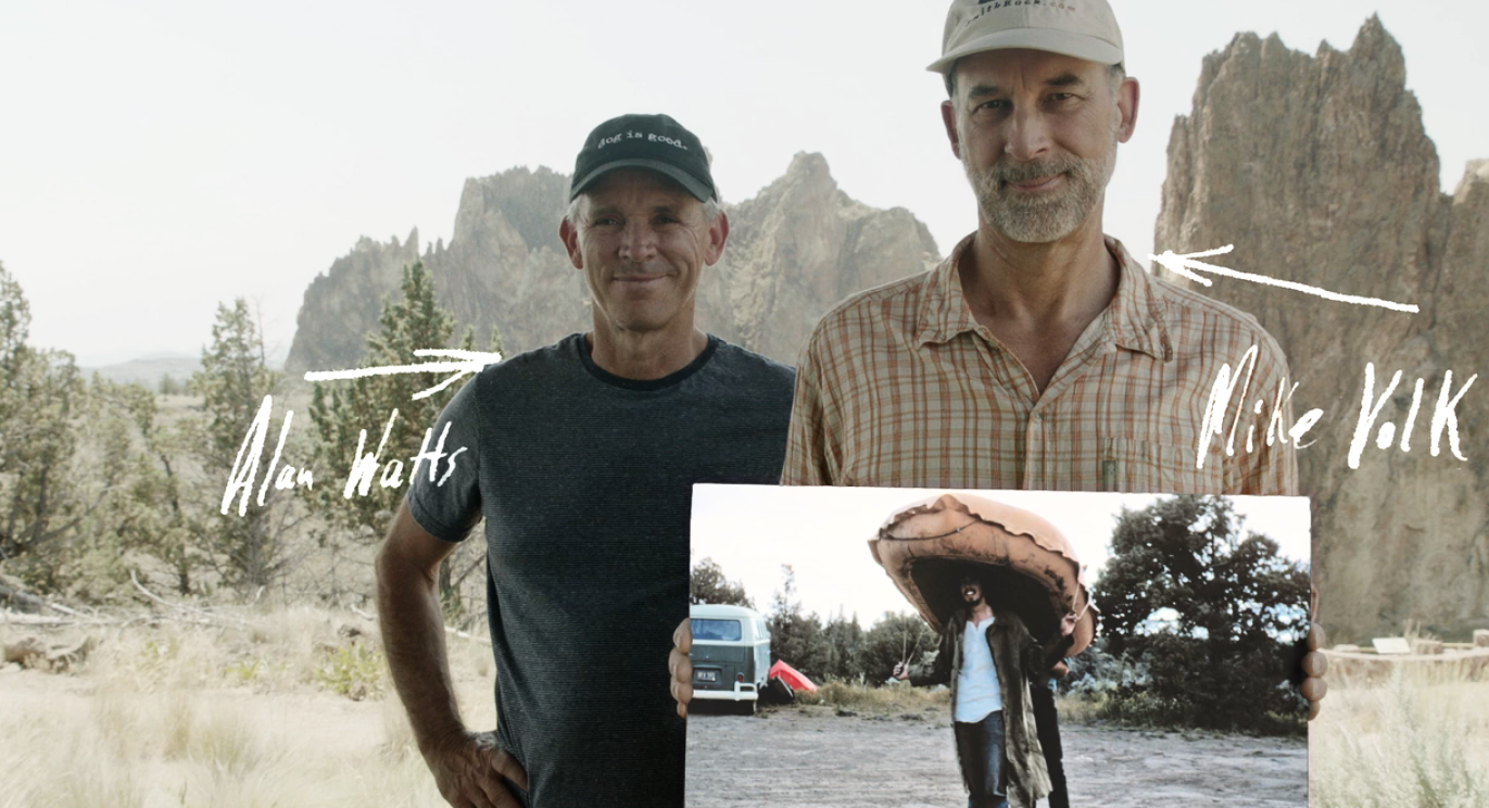 Alan Watts and Mike Volk on early rock climbing at Smith Rock