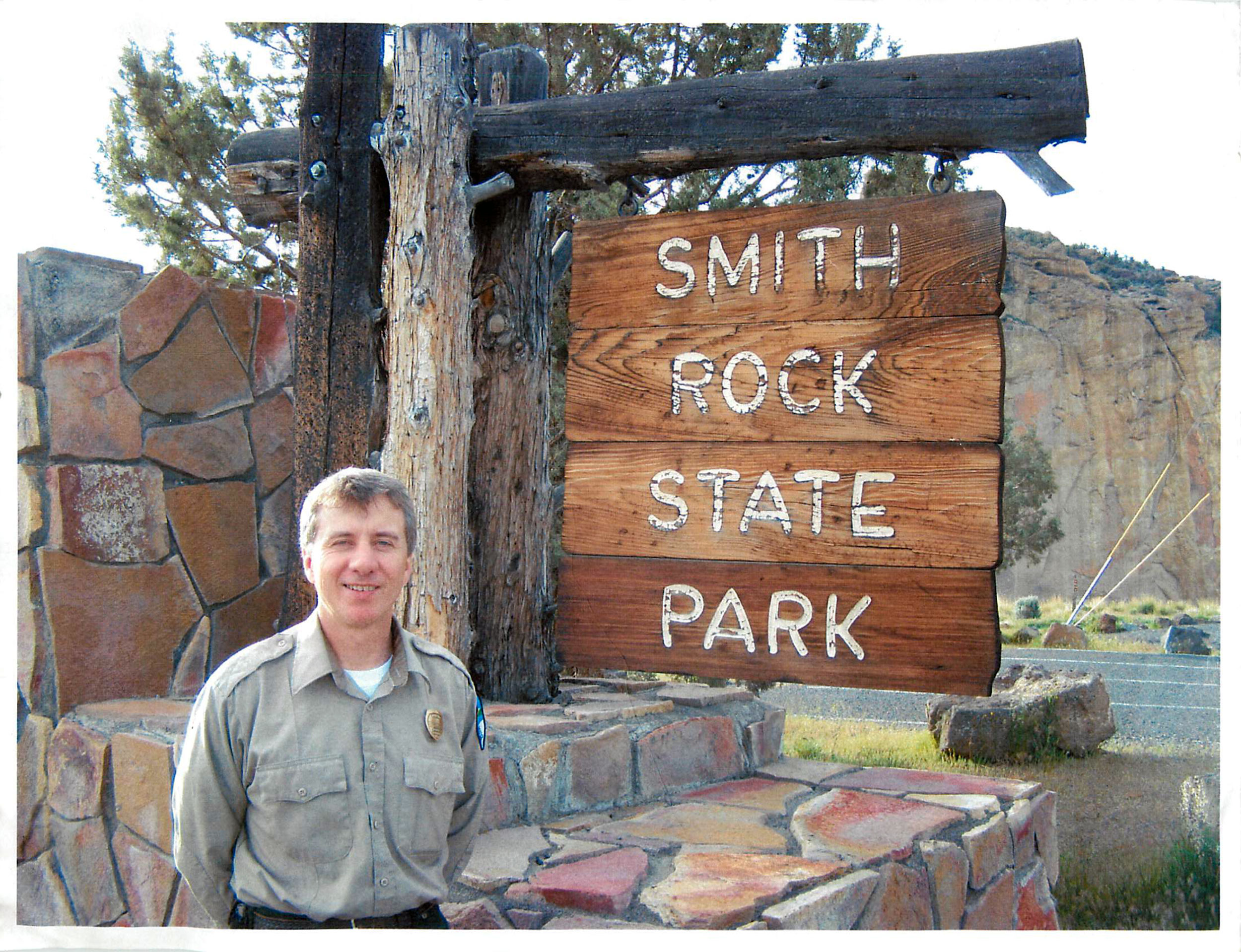 Smith Rock State Park Manager Scott Brown in his first days at the park