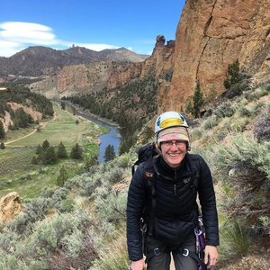 Sarah Wolfe, Smith Rock Craggin' Classic Organizer and founder of Oregon Climbs e-news.