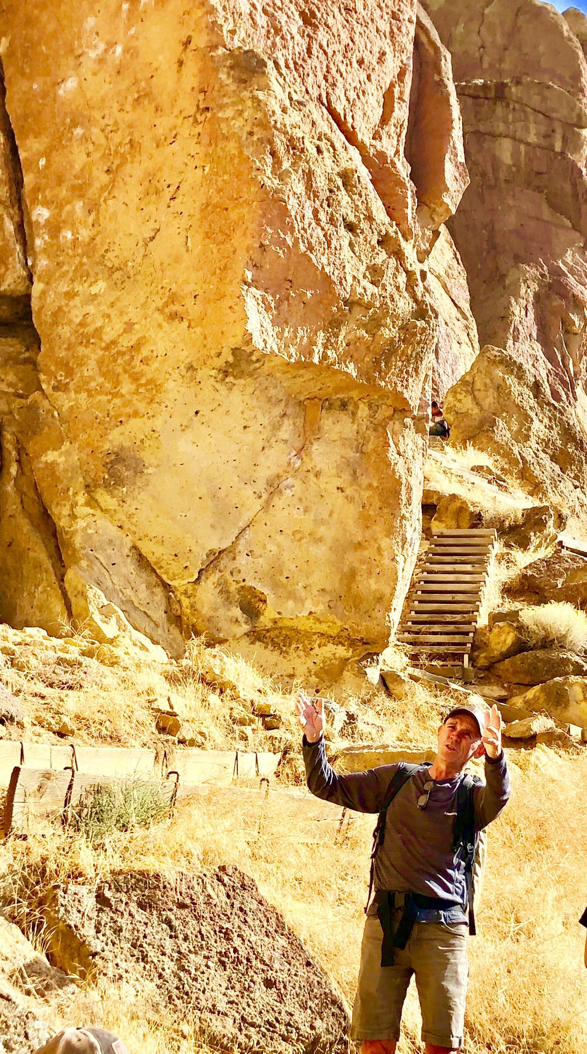Alan Watts Smith Rock Craggin' Classic Climbing History Tour.  Photo by Amy Sue Matthews .  Read more.