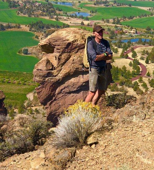 Alan Watts Smith Rock Craggin' Classic Climbing History Tour.  Photo by Amy Sue Matthews.   Read more.