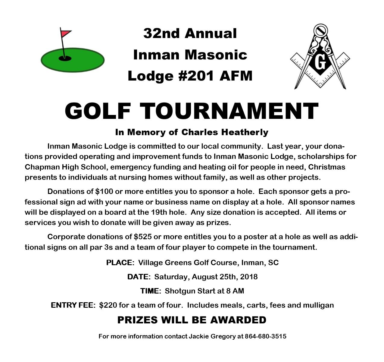 Golf Tournament Newsletter Flyer.jpg