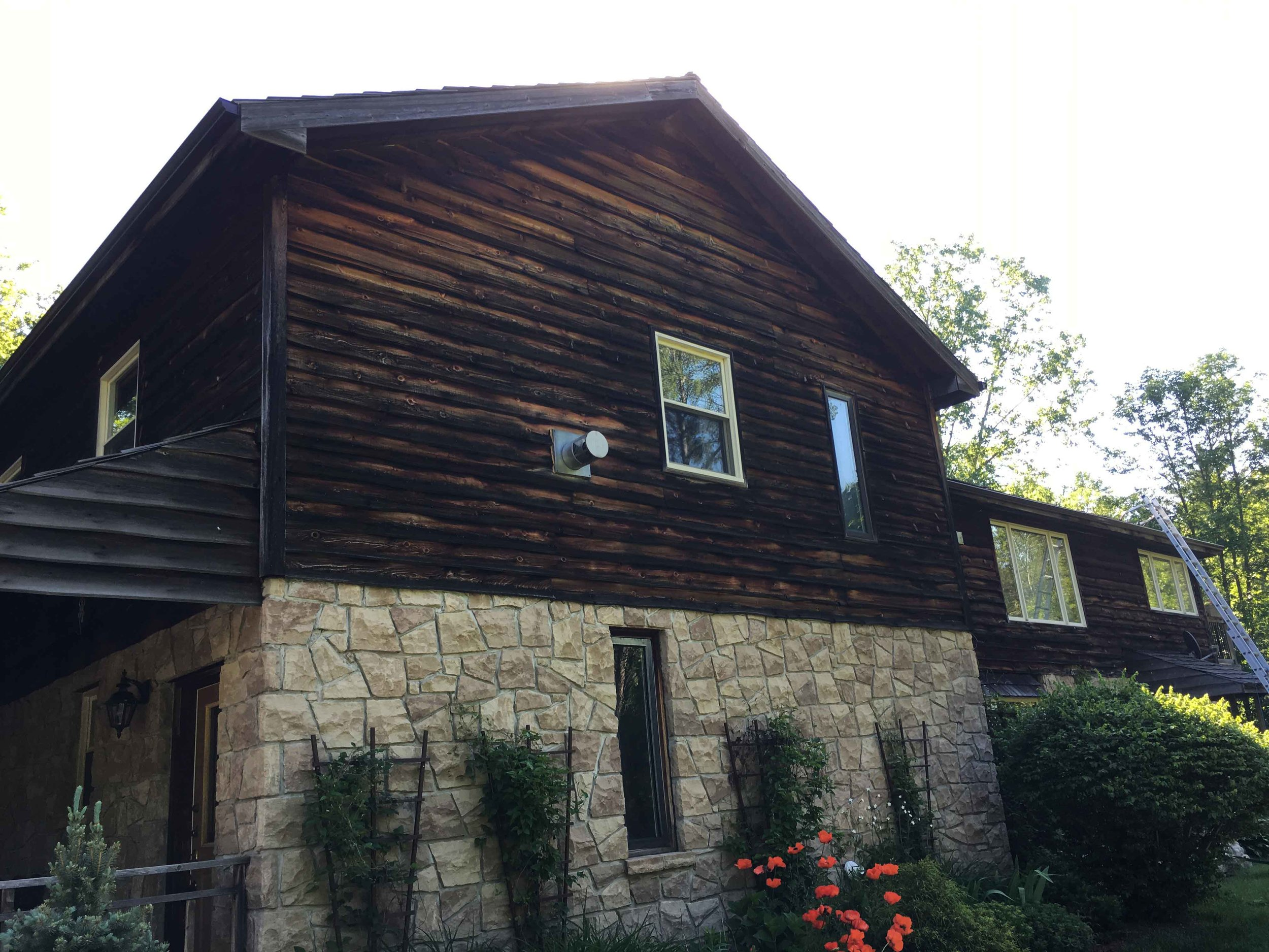Cedar Roof Cleaning & Siding Cleaning Oakville ON