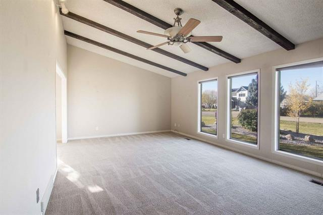The two things it takes to sell my husband and I on a home: vaulted ceilings and too many windows.