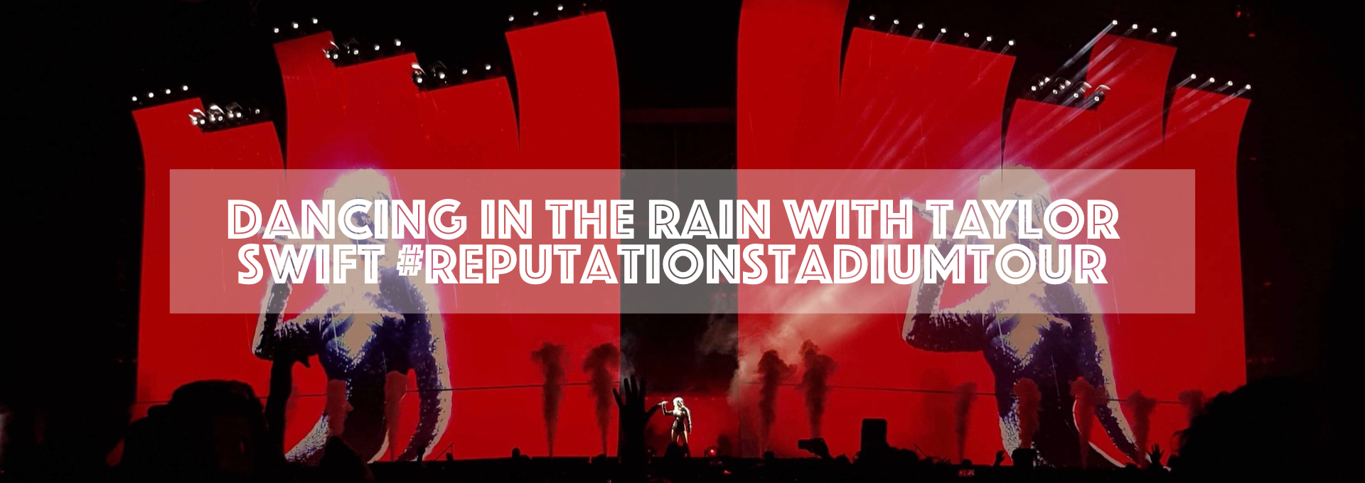 Dancing in the rain with Taylor Swift