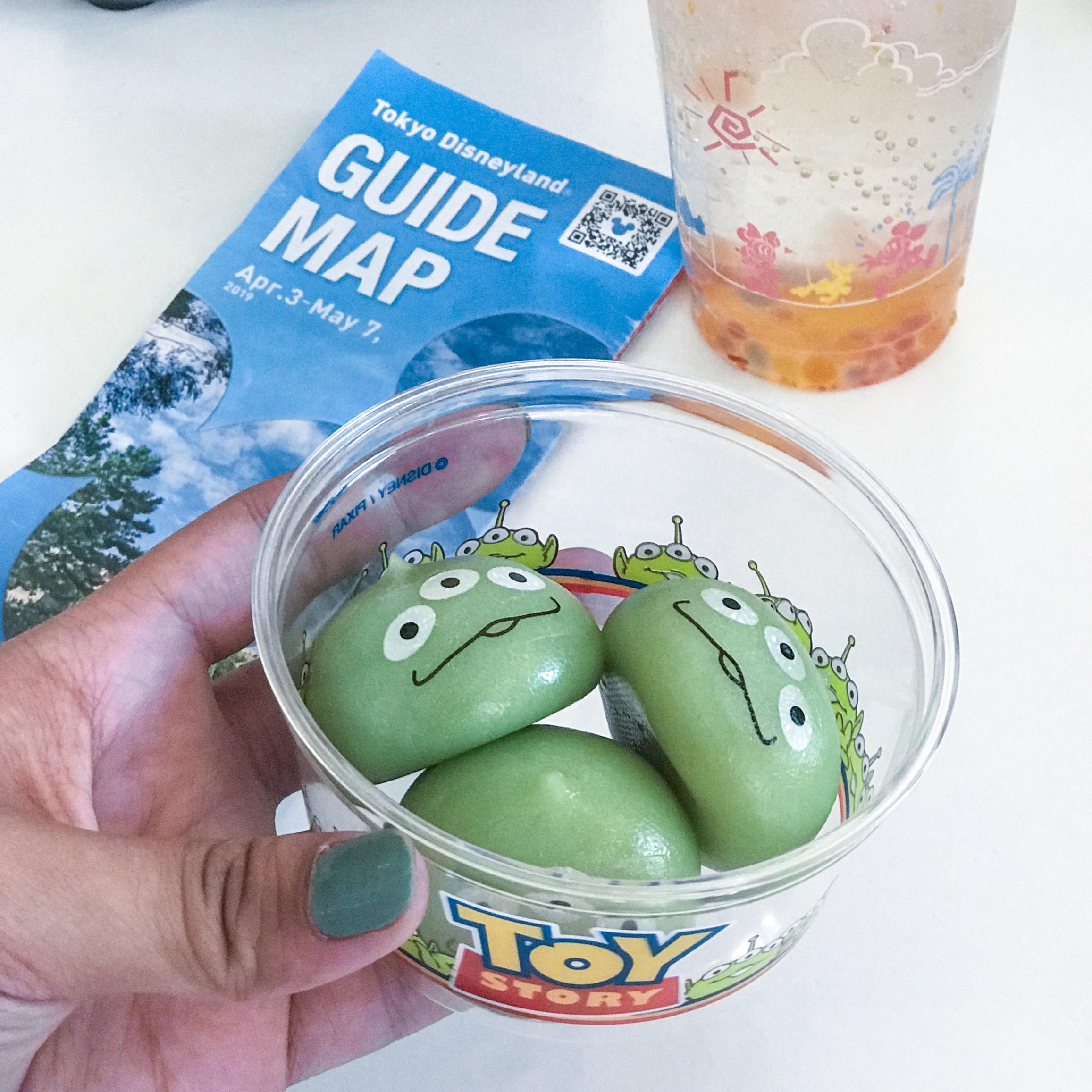 Green Alien Mochi