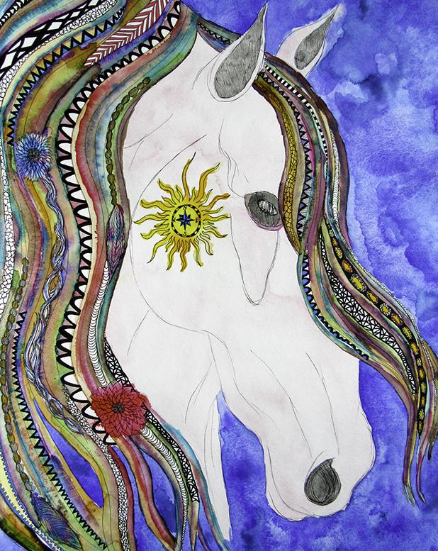 COMPASS HORSE