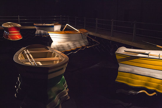 Neuberger Museum of Art Leonardo Erlich: Port of Reflections