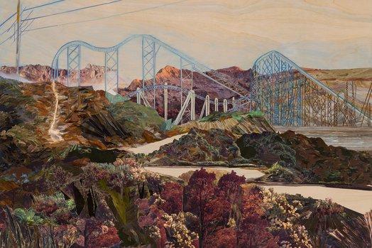 Wave Hill Cheryl Molnar - Unnatural Landscapes