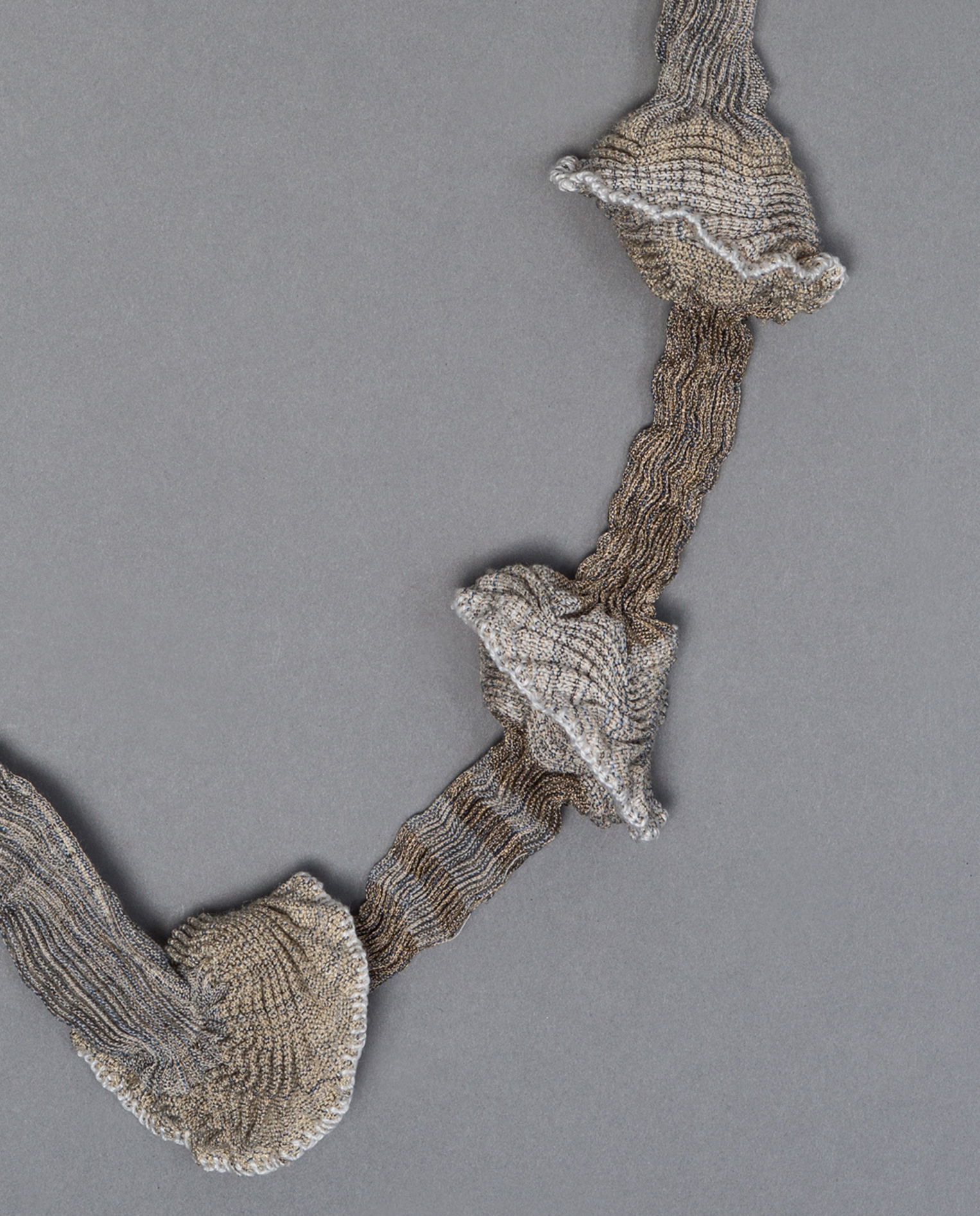 Pleated necklace (detail)