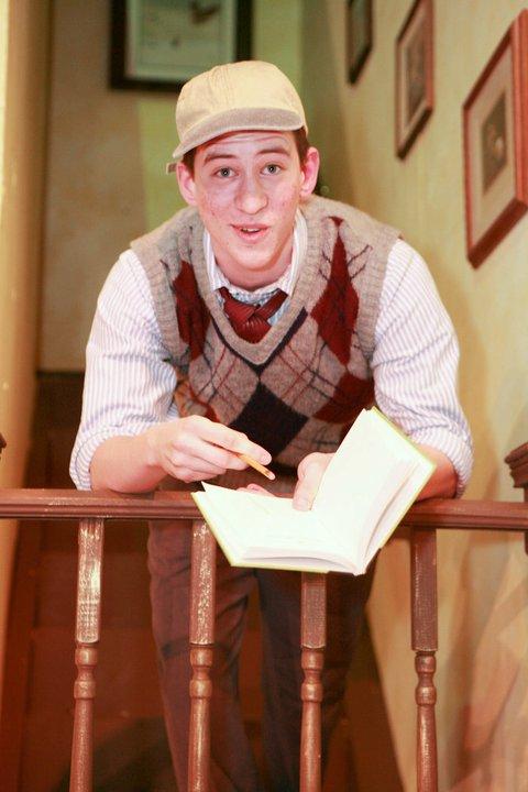 """Max as Eugene in """"Brighton Beach Memoirs"""""""