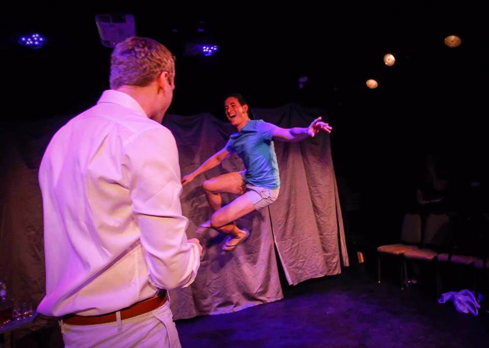 """Max as Jack in """"Sparkler"""" by Erik Champney. He received the award for Outstanding Lead Actor in Planet Connections Theatre Festivity for the role."""