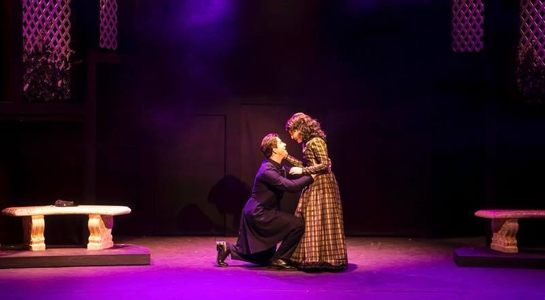 """Max as John Brooke in """"Little Women"""" at Eagle Theatre"""