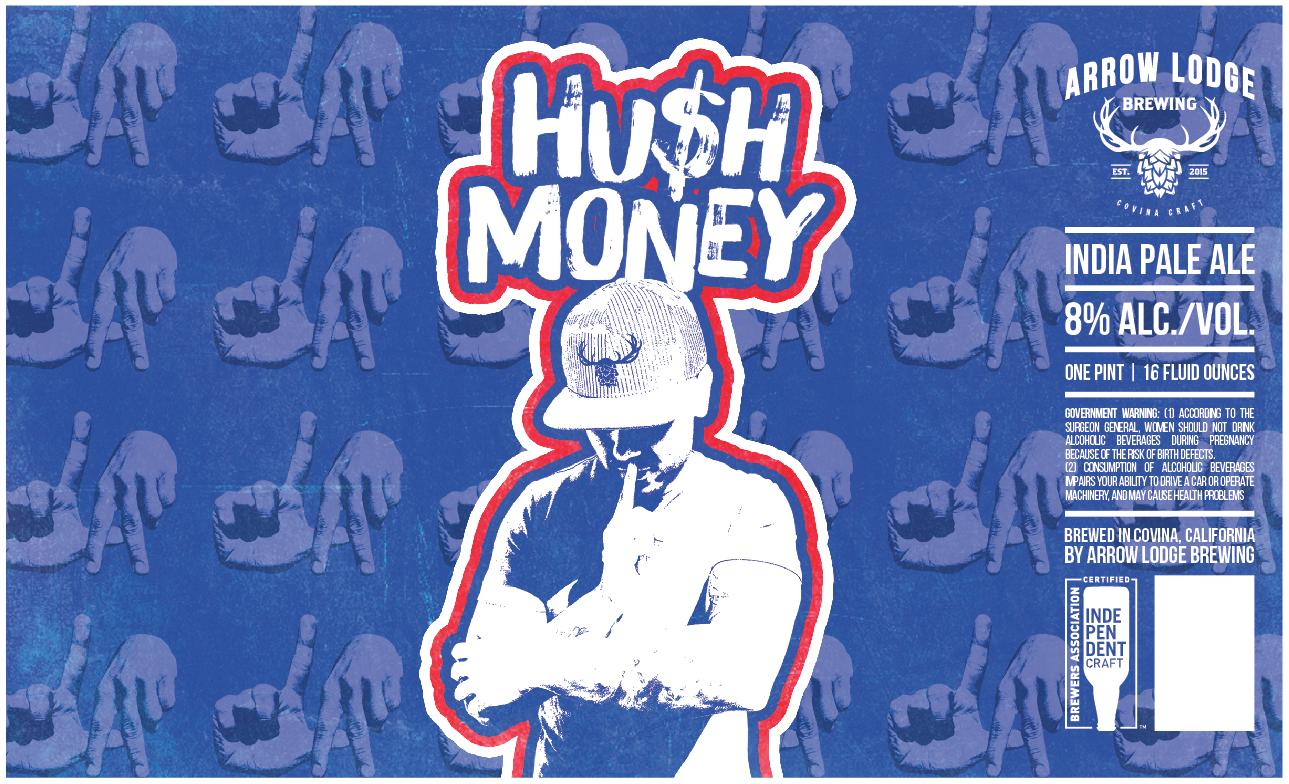 HUSH MONEY - DIPA8% ABV