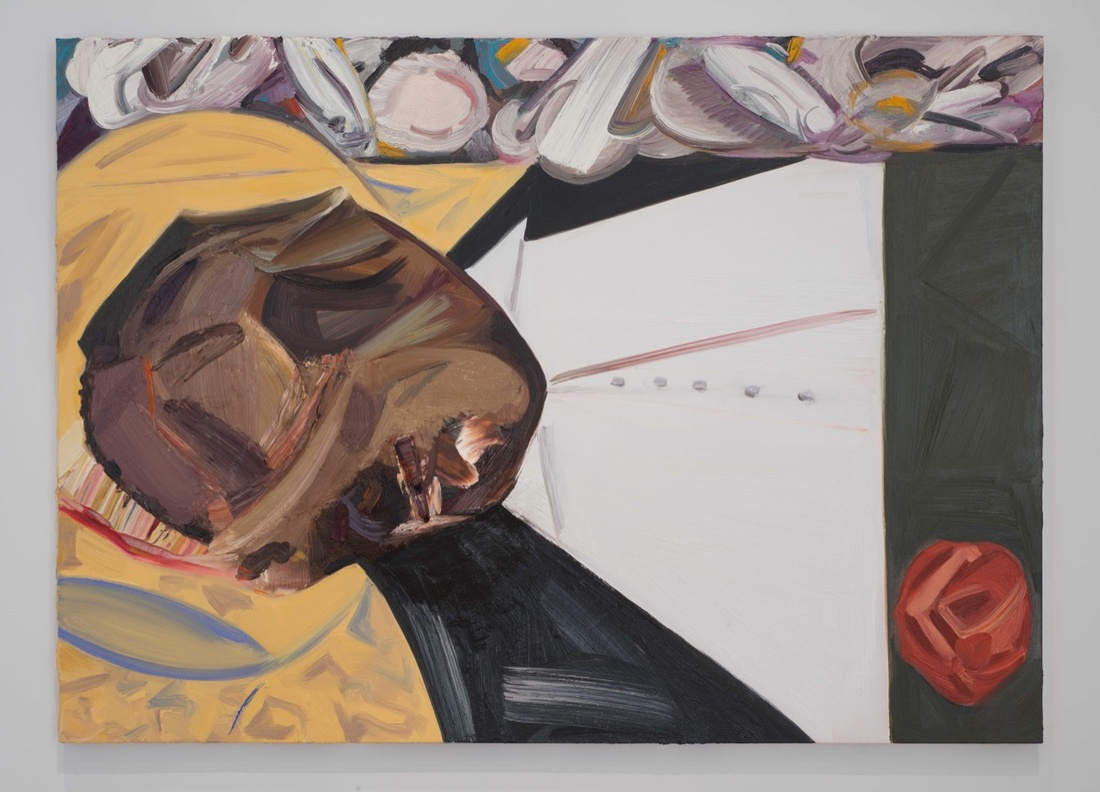 Dana Schutz,  Open Casket  (2016)