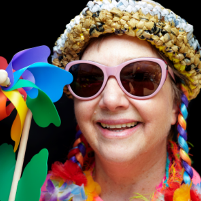Vickijoan Keck - Vickijoan Keck is a flamboyant storyteller, actress and poet who especially enjoys telling folktales and whimsical rhymes. She also enjoys telling personal stories as well as putting a new twist on an old taleLearn more about Vickijoan…