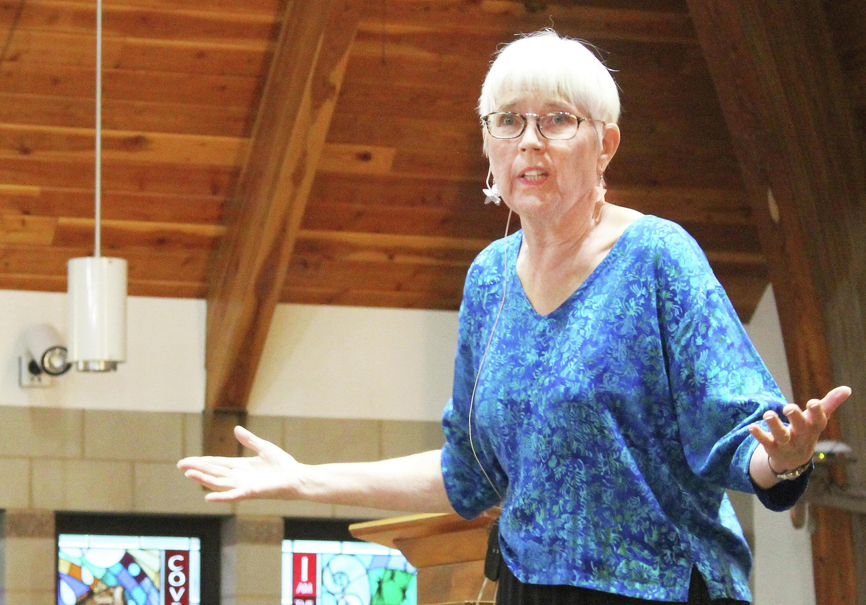 Sue Searing, 2018 grand prize winner. Photo by Shannon Geisen/Park Rapids Enterprise.