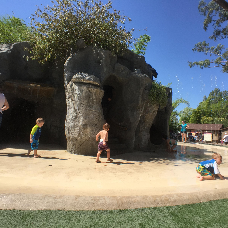 Cave Playground at the Phoenix Zoo