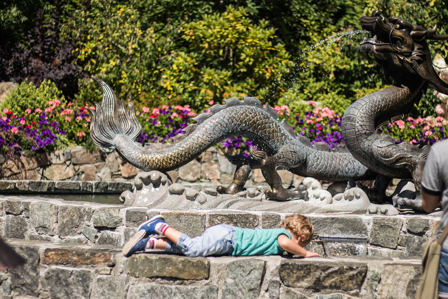 Butchart Gardens with Toddlers Victoria BC