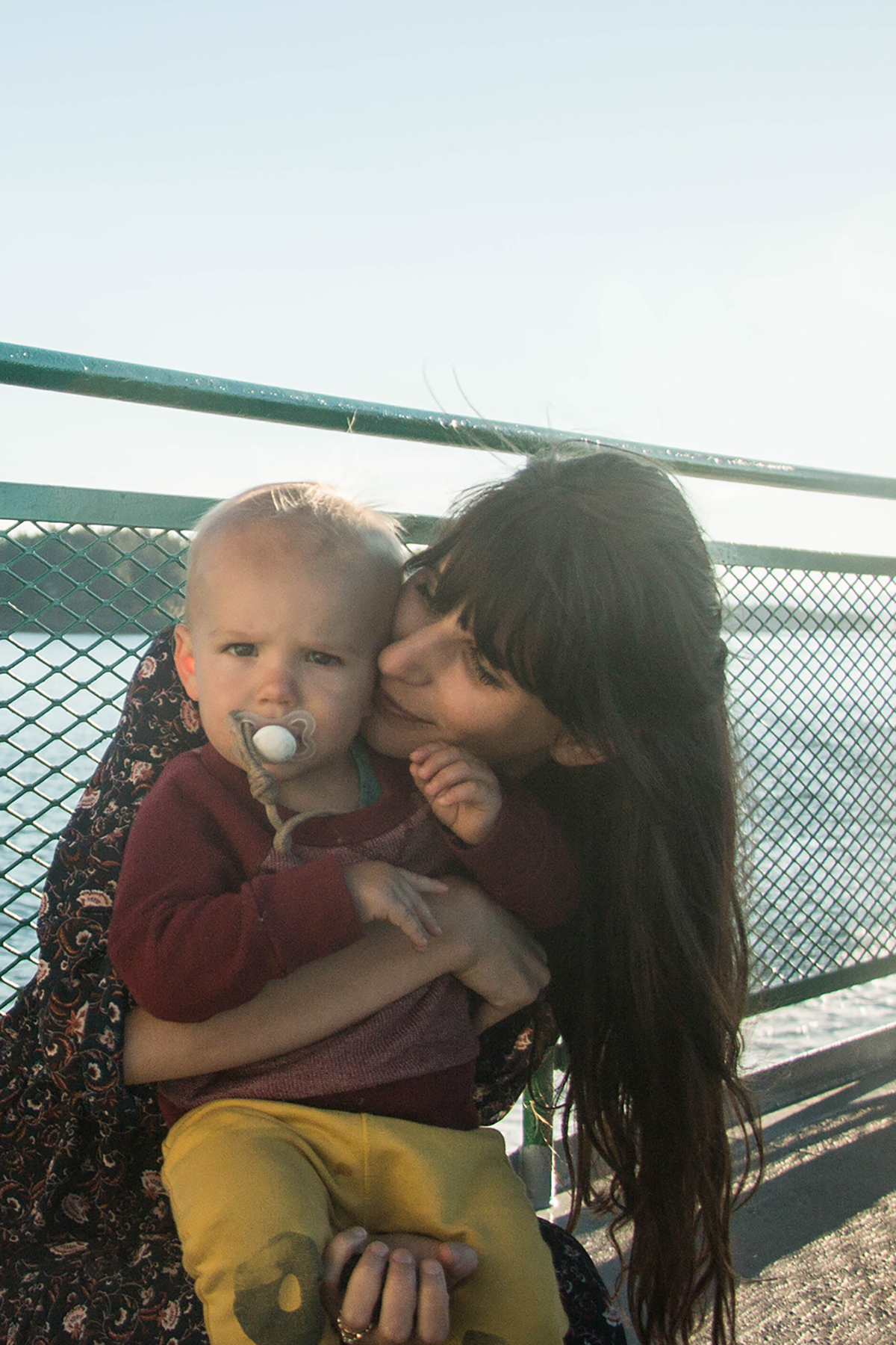 ferry to San Juan islands with kids