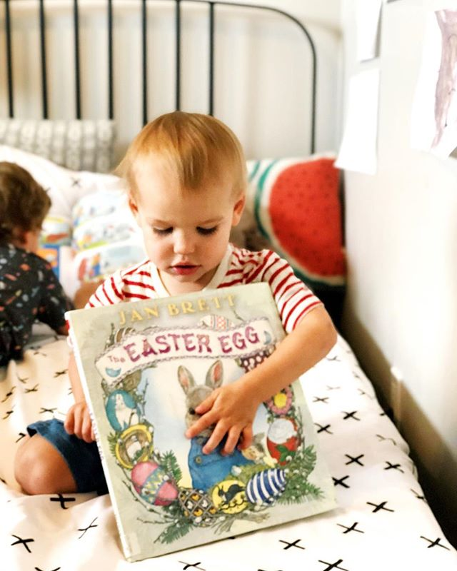 We're all excited for this weekend! Have a good one! #hoppyeaster • • • • • • #happyeaster #easter #easter2019 #easterbooks #easterbook #kidseasterbooks #festive #easteregg #janbrett #eastereggs #readingisfun #readallthebooks #readeveryday #read #library #bibliophile #bookstagramfeature #kidlit #raisingreaders #elementaryreaders #kidsbookswelove #readeveryday #kidsbooksofinstagram #kidlitfeature #earlyreaders #kidswhoread #childrensbooks  #kidlitart #picturebooks
