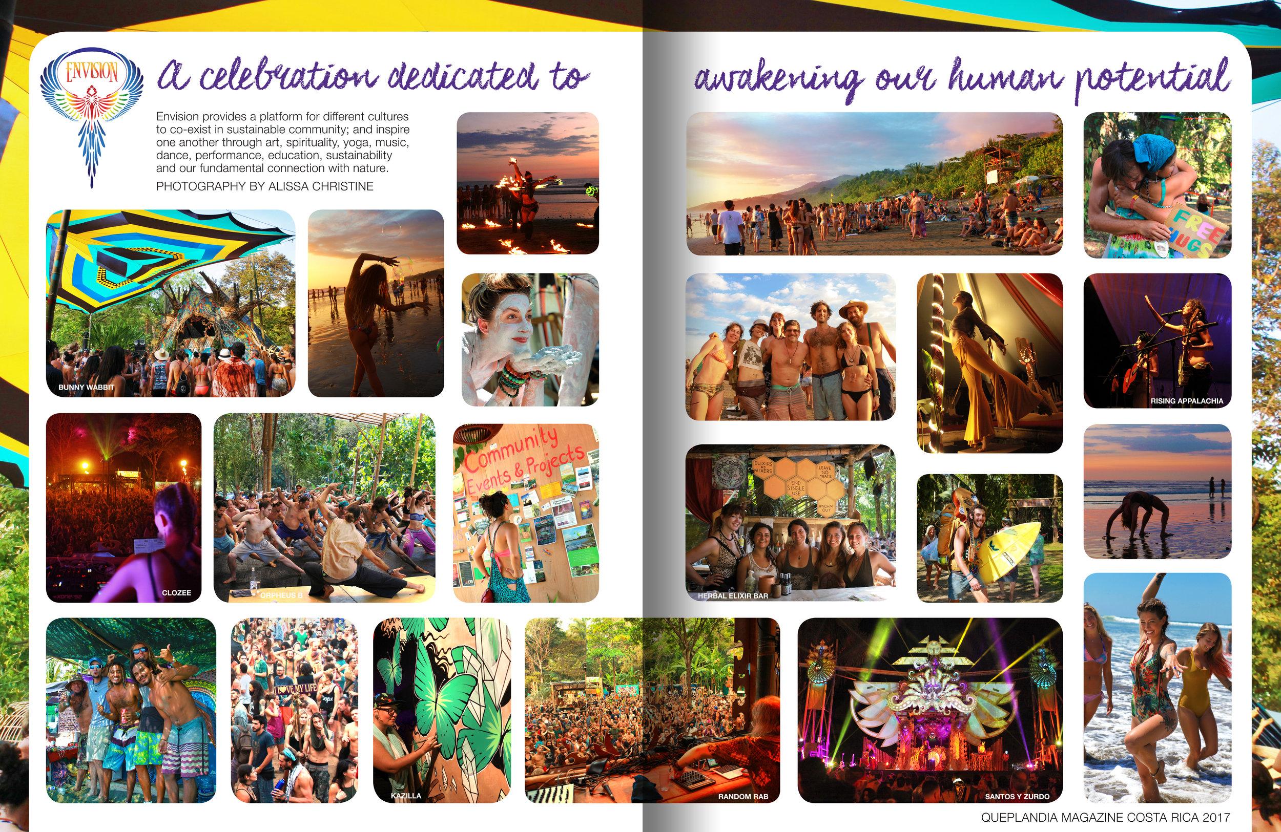 quepolandia magazine : 2017 envision festival costa rica