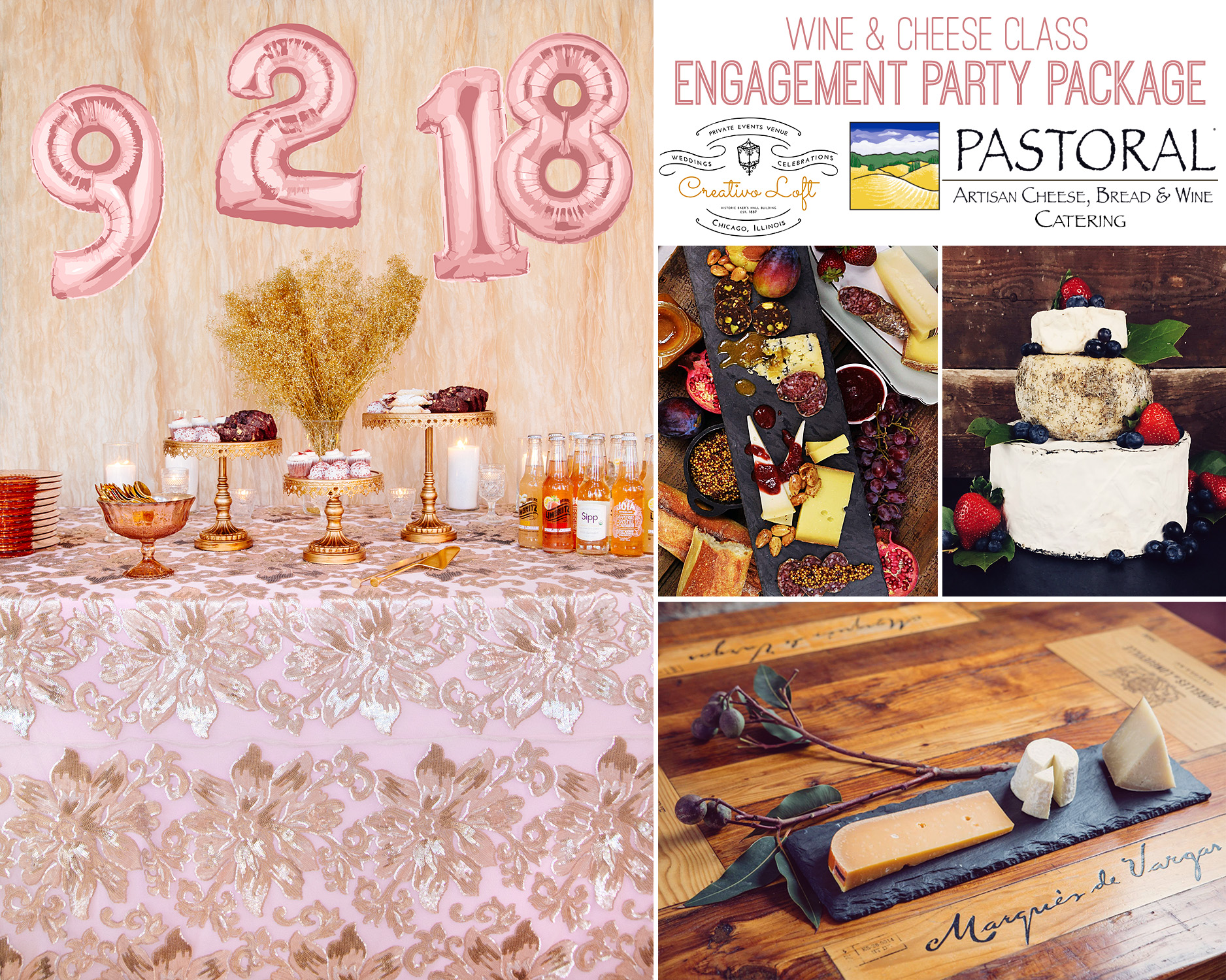 photos: Creativo Loft (left image), all other images from Pastoral Artisan Cheese Bread and Wine