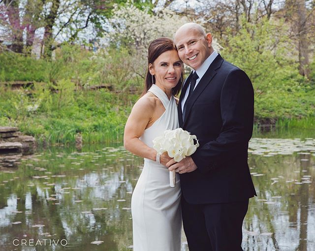 Always great to get back out to the lily pool when spring has sprung. Congratulations Ines & Chris! #chicagoelopement #chicagoelopement #elopement #elopementwedding