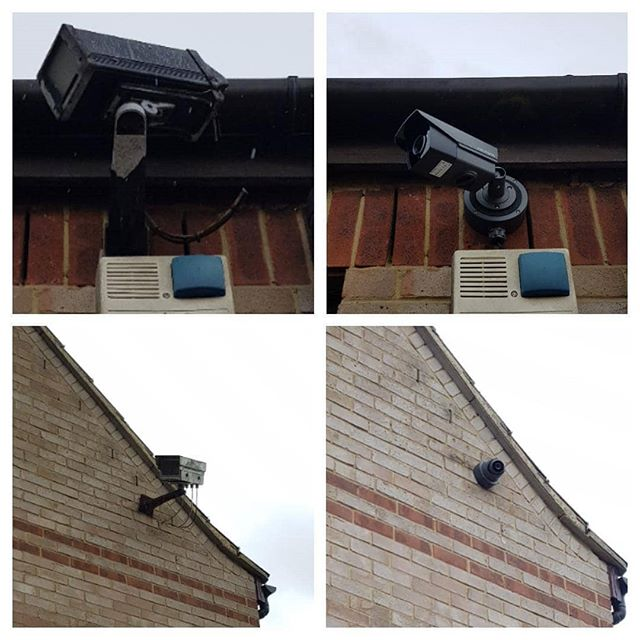 Replaced a couple of vintage CCTV cameras today for a customer in Bancroft, Milton Keynes. I think it's fair to say technology has come a long way!  #cctvinstallation #cctv #oldschool #oldvsnew #securitycamera #homesecurity #hikvisioncctv  www.ajsecuritysolutions.com 07841621645