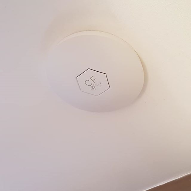 Clear Flow access point installed today at a house in Downhead Park, Milton Keynes.  The customer was struggling with wifi coverage in several areas of her house but after installing this dual band (2.4 and 5.8ghz) access point she now has complete coverage throughout.  If you are having the same problems with your wifi get in touch for a free no obligation quote.  www.ajsecuritysolutions.com  Mobile - 07841621645