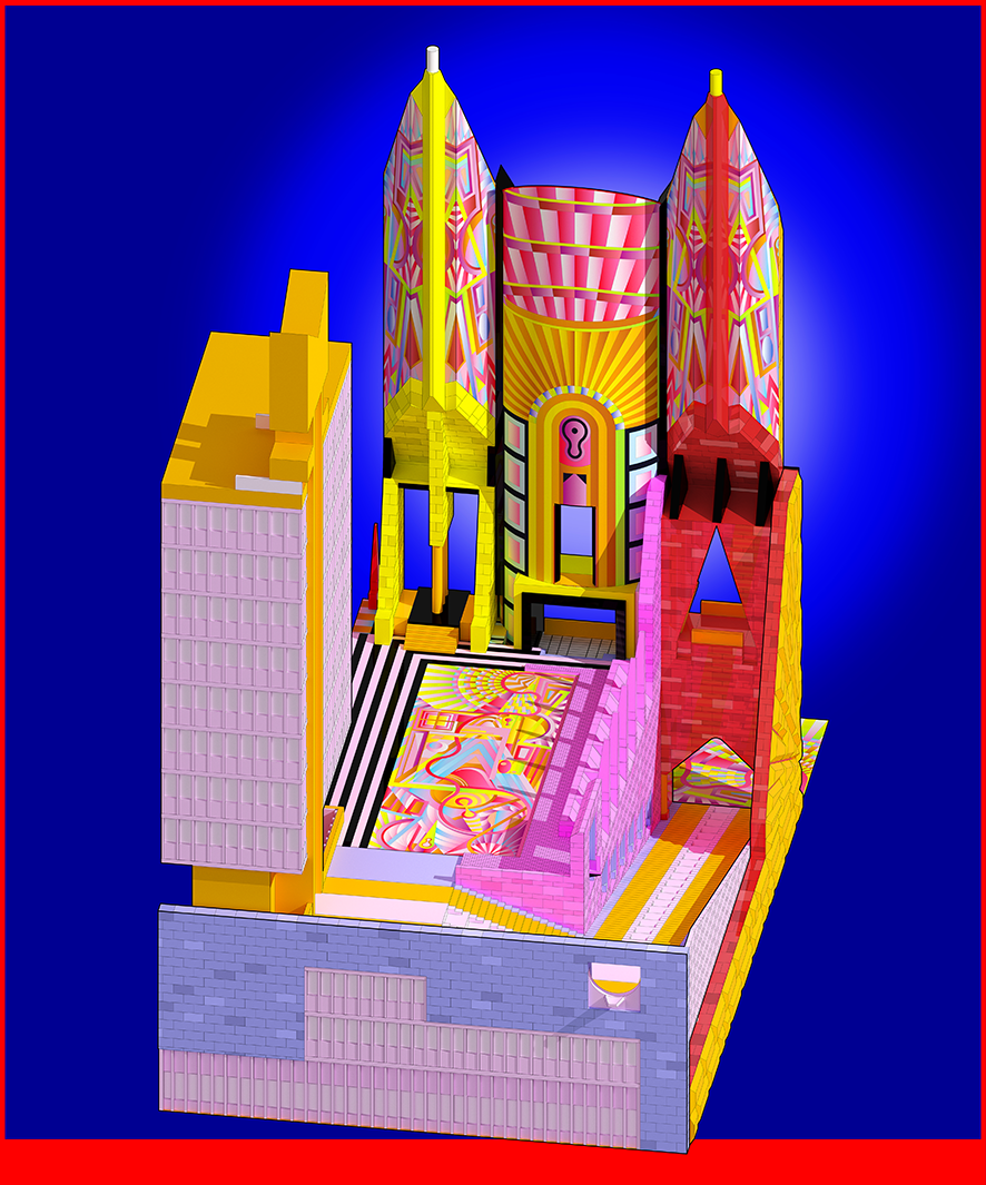 The Town Hall by Adam Nathaniel Furman