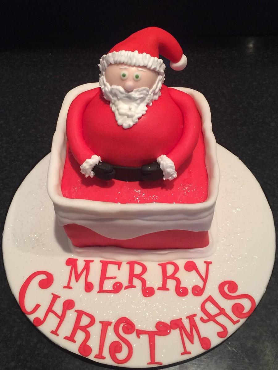 fatherchristmascake