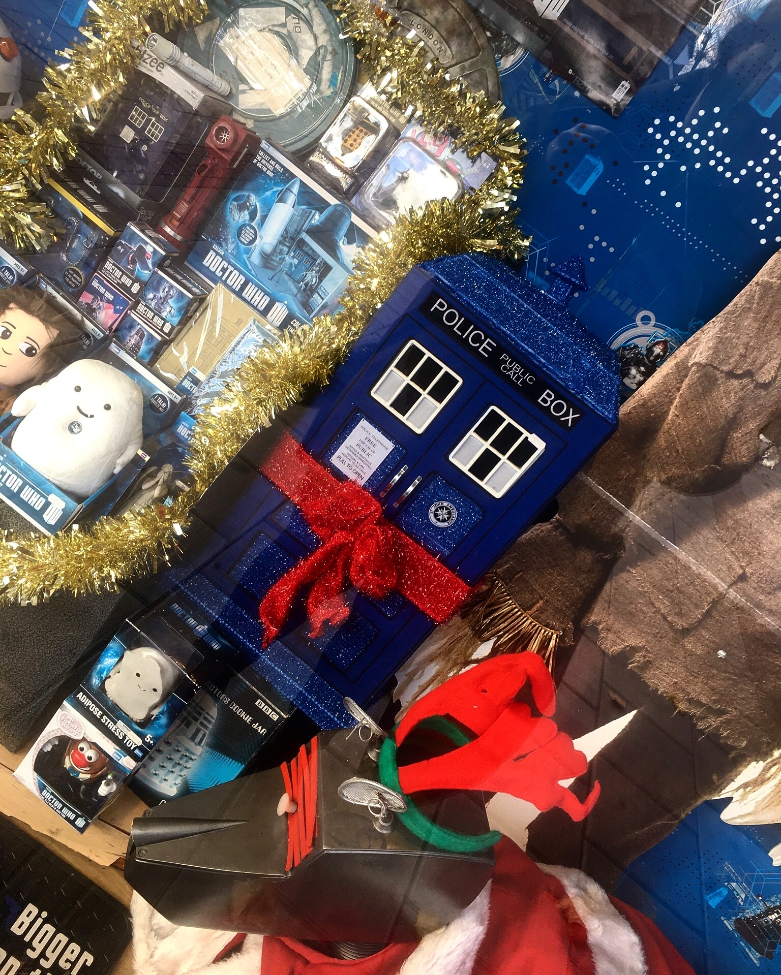 Doctor Who´s christmassy TARDIS