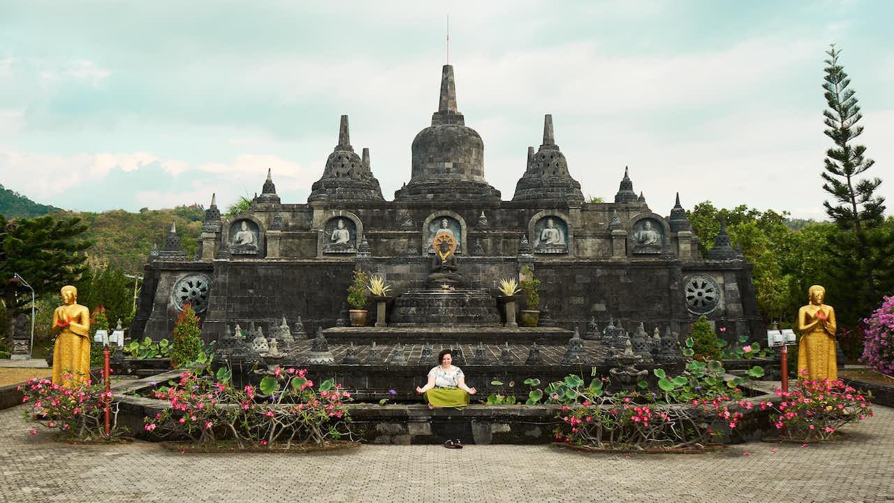 Buddhistischer Tempel Brahmavihara #Zen