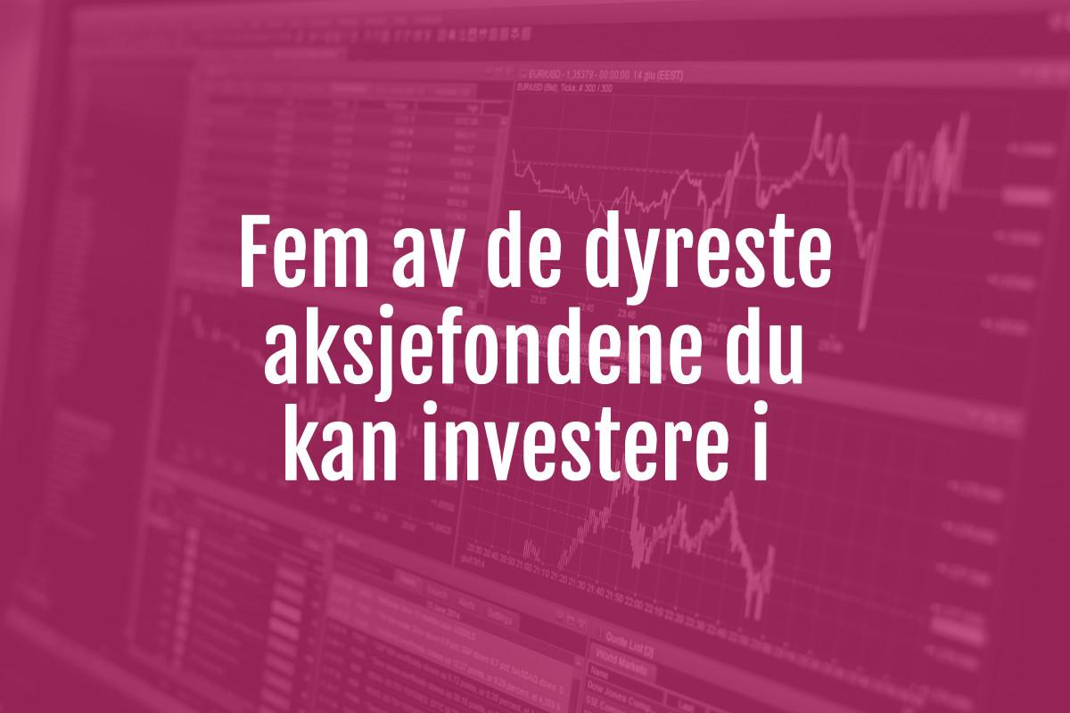 dyre aksjefond