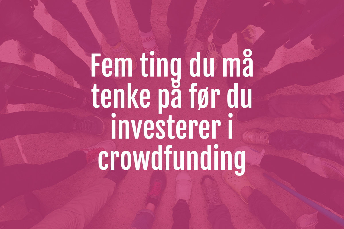 crowdfunding norge