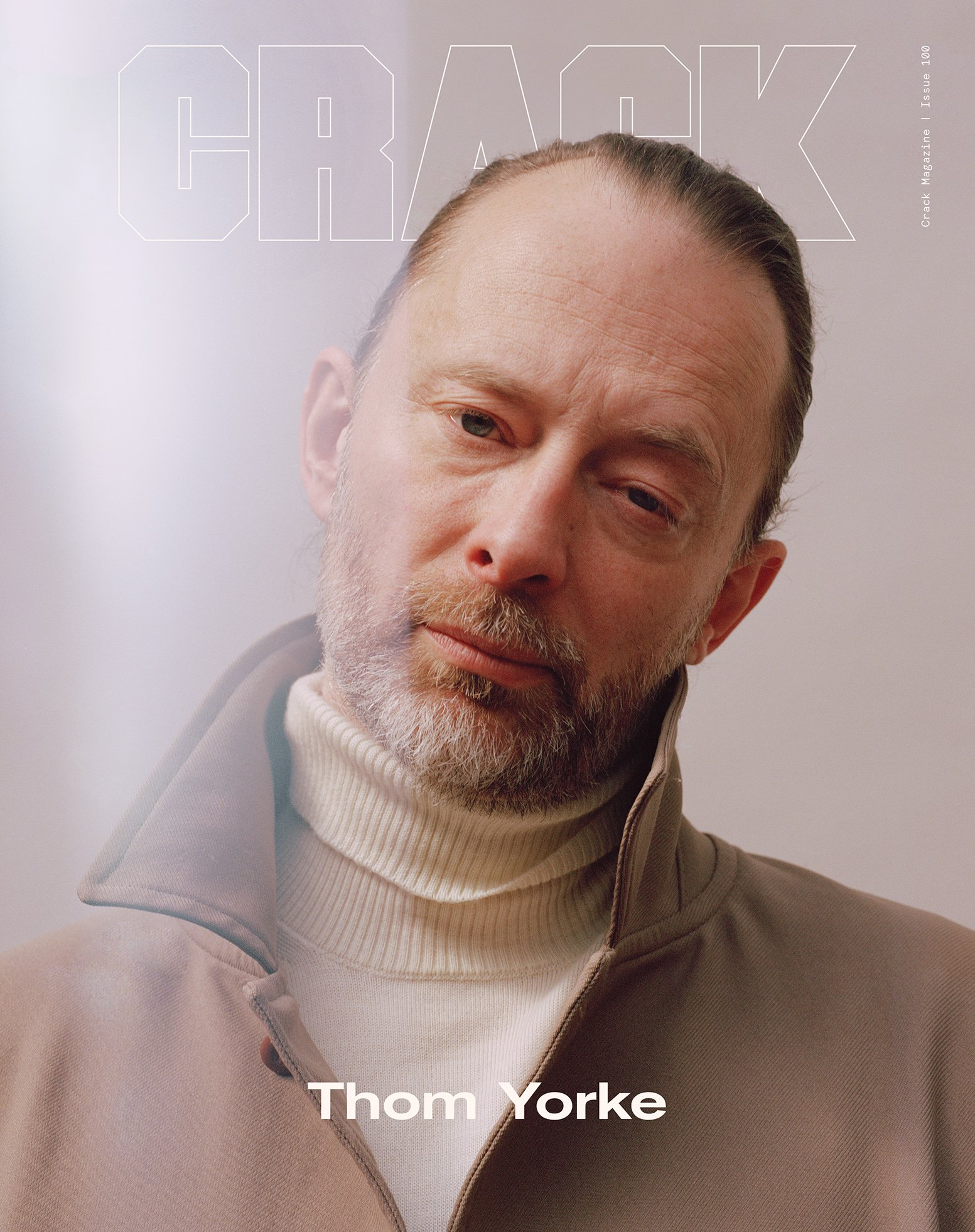 Thom Yorke for  Crack Magazine , Issue 100 with Charlotte James.  2019