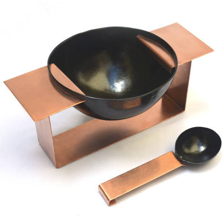 """cuias"" with copper 