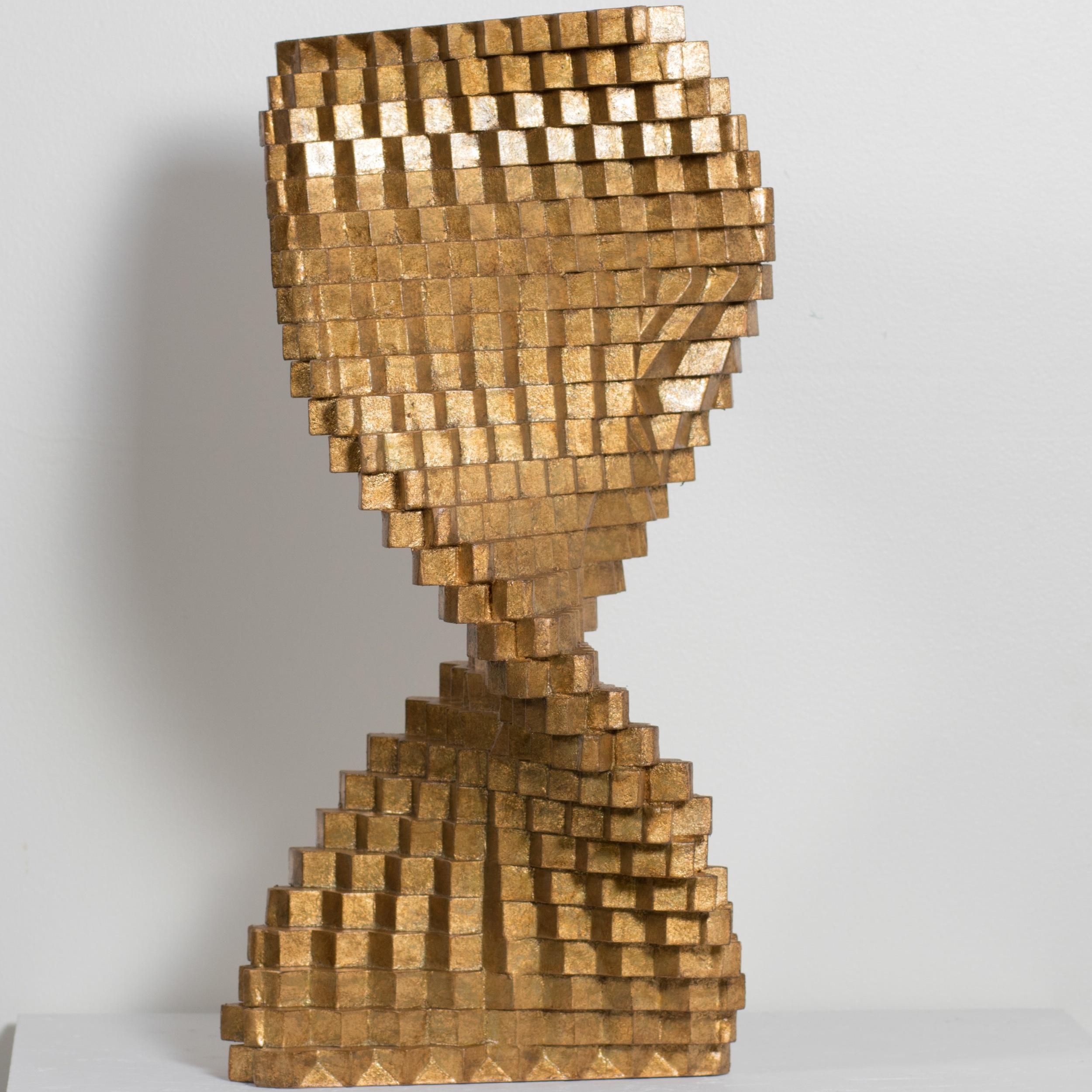 golden sculpture | art -