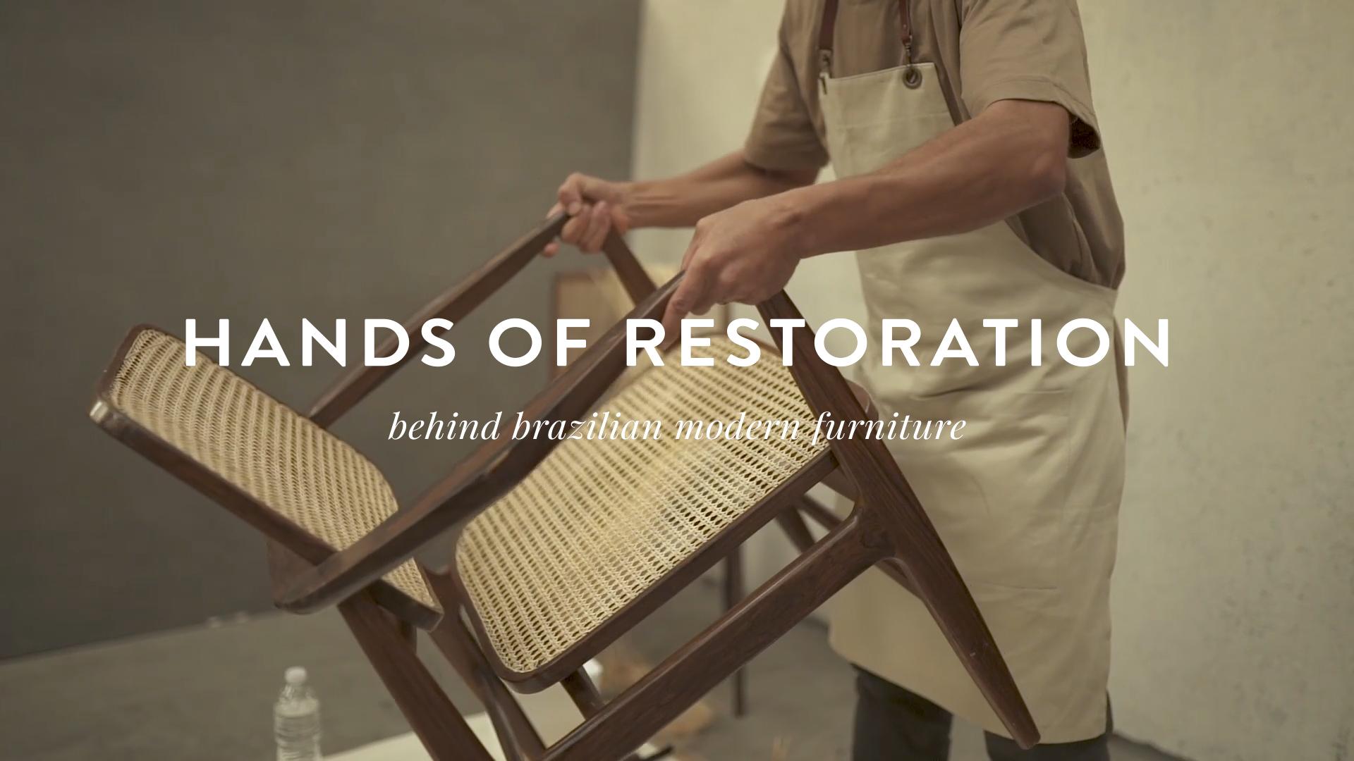 Original series: Hands of Restoration - A série pretende apresentar os artesãos responsáveis pela restauração nos múltiplos processos envolvidos no restauro de um móvel moderno. Além de abordar nuances e reflexões acerca do que se pretende em um processo de restauro.