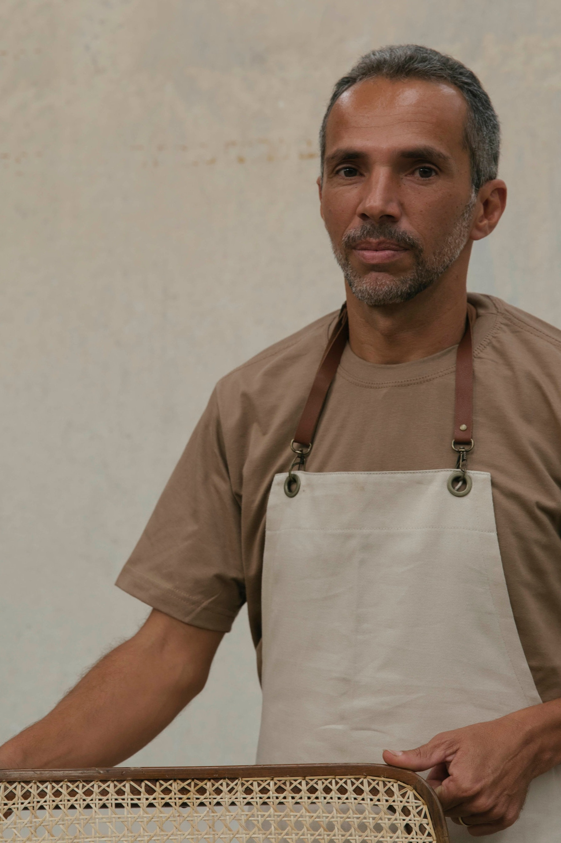 Ataíde Ferreira, 48 years old. Responsible for the straw restoration in our vintage collection.